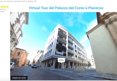 Virtual Tour del Palazzo del Corso a Piacenza